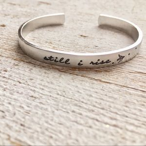 Jewelry - Still I Rise bracelet